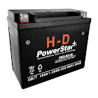 PowerStar YTX20-BS Motorcycle Battery for Harley Davidson Motorcycle Battery with A 3 Year Warranty