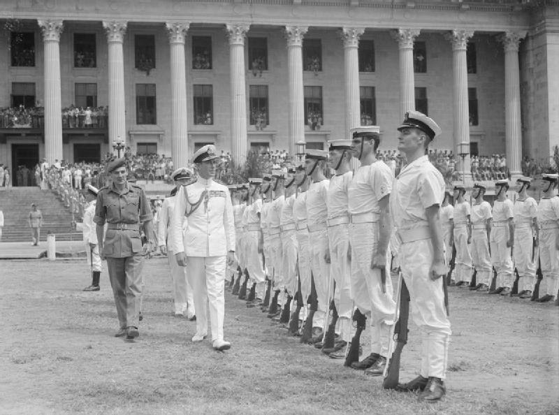 File:Louis Mountbatten Inspection, Singapore 1945.jpg