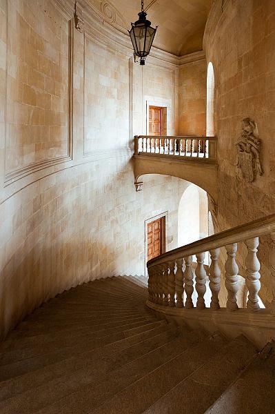 File:Escaleras Palacio Carlos V.jpg