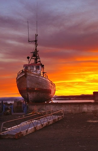 In the shipyard ...