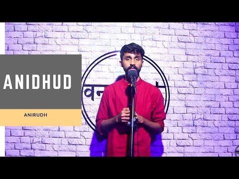 Anidhud to Anirudh - My Storytelling video