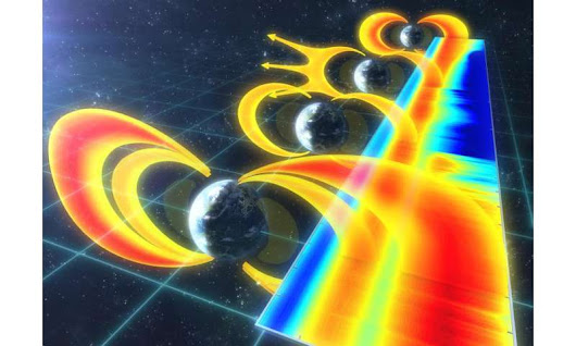 'Space tsunami' causes the third Van Allen Belt