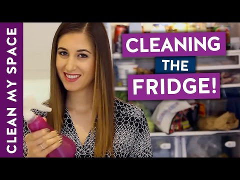 How to Clean A Fridge!