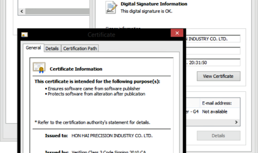 One-stop counterfeit certificate shops for all your malware-signing needs