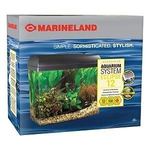 Marineland eclipse acrylic aquarium system freshwater for Eclipse fish tank