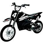 Razor MX650 Dirt Rocket High-Torque Electric Motocross Dirt Bike, 17 MPH, Black by VM Express