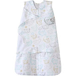 HALO Sleepsack 100% Cotton Swaddle - Elephant - NB