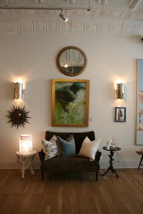 Heather Garrett Design eclectic living room