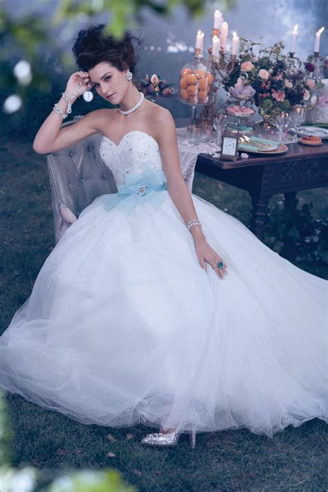 NEONSCOPE   Dreamy Disney Princesses by Alfred Angelo