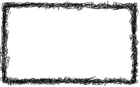 rectangle scribble frame png transparent onlygfxcom