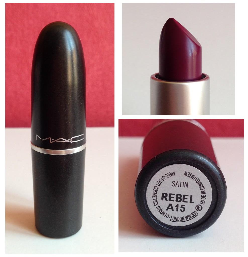 Rouge A Levre Mac Rebel Maquillage 2018 2019
