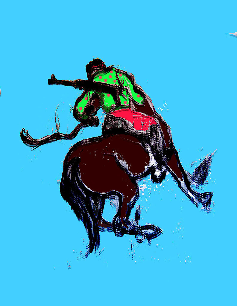 3 graphics (older) Horseback