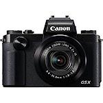 "Canon PowerShot G5 X Digital Camera (Black) w/1"" Sensor & built-in viewfinder - Wi-Fi & NFC Enabled"