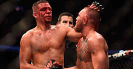 One year ago today, Conor McGregor and Nate Diaz put on an unforgettable show (highlights) | BJPenn.com