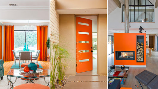 Afraid of Orange? Not-So-Scary Ways to Use This Hue in Your Home | ®