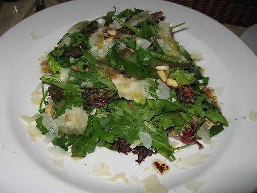 egg and bacon salad