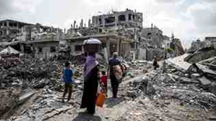 destruccion Gaza jul 2014