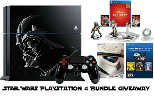 Limited Edition Star Wars Playstation 4 + Game Bundle