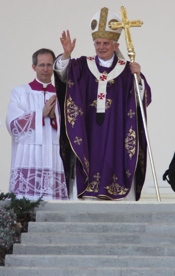 Resultado de imagen para misa papa benedicto