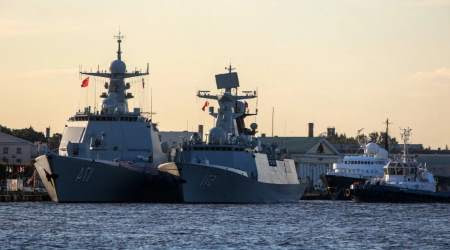 China's Navy Prepares for Joint Military Drill with Russia