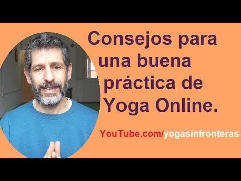 """Video: """"Consejos para una buena práctica de Yoga Online"""""""