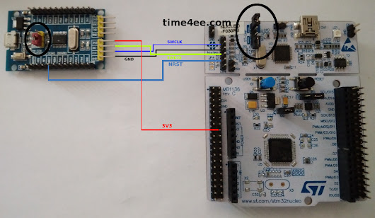 @Time4EE | Electronic Engineering - Articles: Development board with STM32F030F4P6 and programming (CubeMX and AC6)