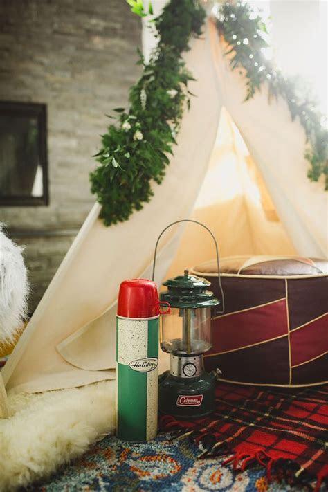 Kara's Party Ideas Rustic Camping Baby Shower   Kara's