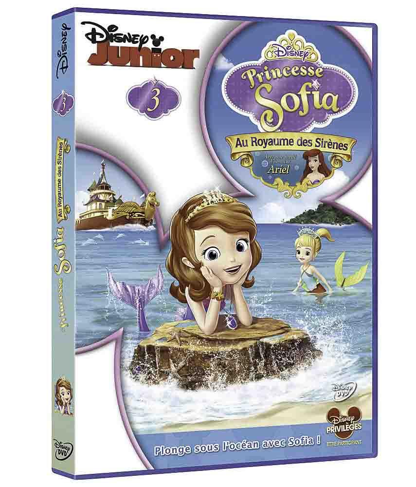 Princesse Sofia DVD 3 Au royaume des sir¨nes