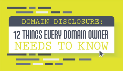 [White paper] Domain Disclosure: Dirty Dozen