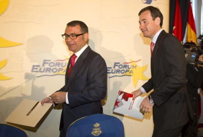 Fraile y Gómez, cuando el primero se presentaba a alcalde de Parla en...