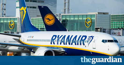 Ryanair cancels 40 to 50 flights a day for staff to go on holiday | Business | The Guardian