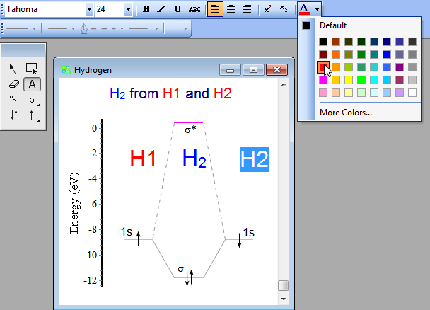Molecular Orbitals Editor Chemissian Software To Analyze Spectra Build Density Maps And Molecular Orbitals