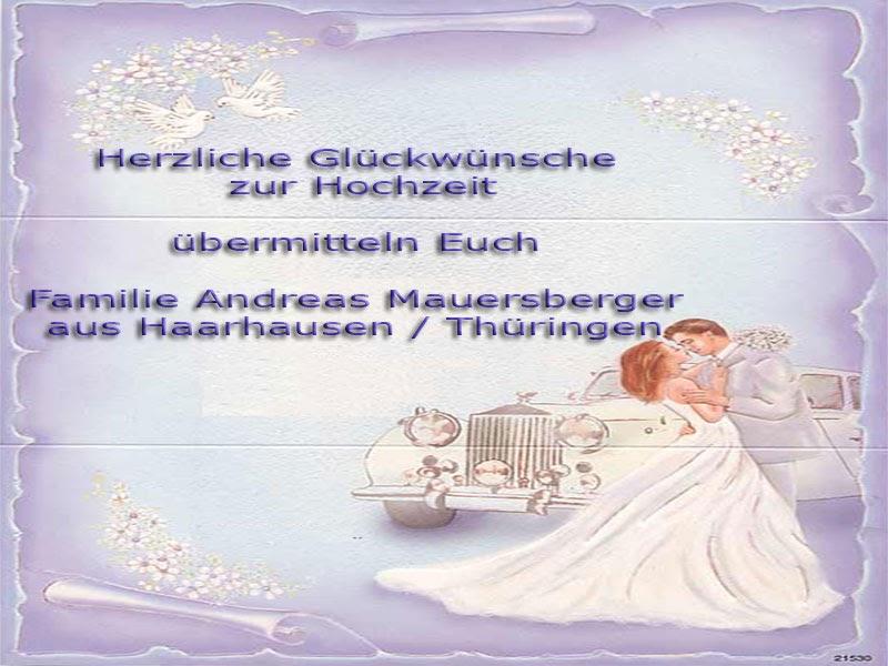 Hochzeitswuensche Glueckwuensche Zur Hochzeit Von Den