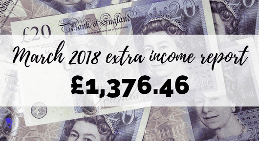 March 2018 Extra Income Report - Boost My Budget