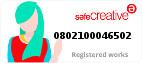 Safe Creative #0802100046502