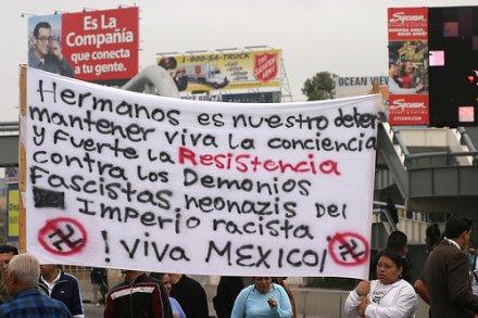 Protesta Frontera Tijuana