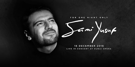 SAMI YUSUF TO PERFORM AT DUBAI OPERA – Sami Yusuf Official