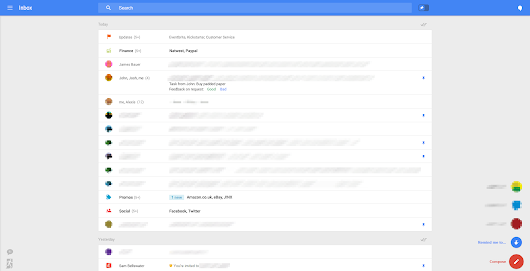 Google testing stunning Gmail overhaul that puts the focus on email