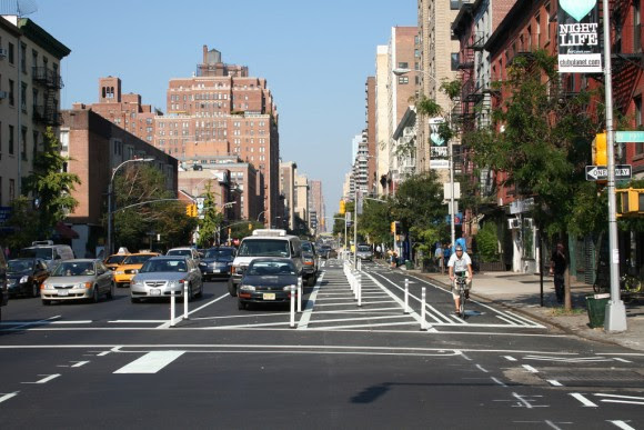Ciclobandas en Nueva York. © Spacing Magazine, vía Flickr.