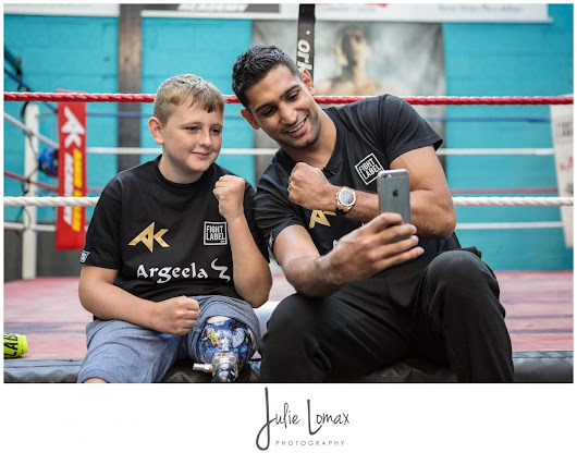 Amir Khan makes Ben's Day!