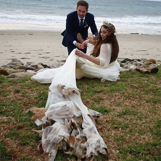 Troian Bellisario And ‪Patrick J. Adams Wedding Pics Hit Social Media