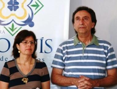Os primos secretário de Saúde: Helena Duailibe (São Luís) e Ricardo Murad (Maranhão)