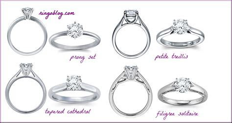 Engagement Rings Settings Styles   Ring O Blog   Directory