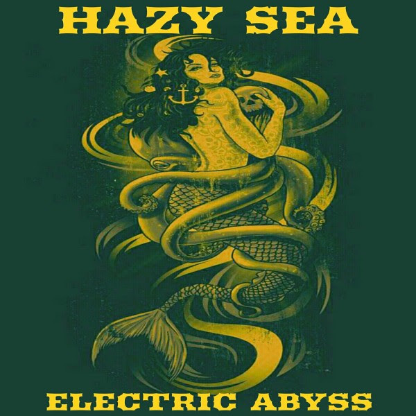 Hazy Sea - Electric Abyss Album Cover