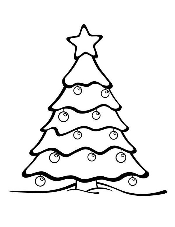 Simple Pine Tree Drawing at GetDrawings | Free download