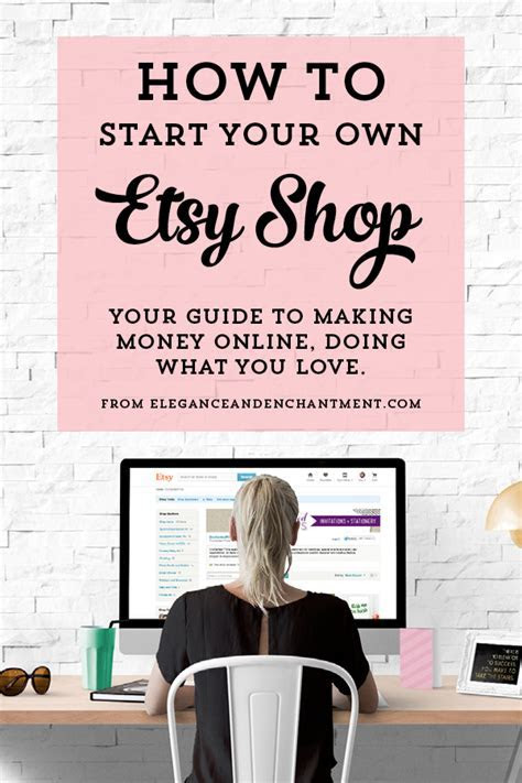 Making money on Etsy: A guide to starting your own shop