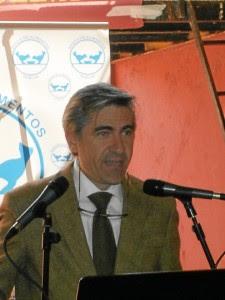Oscar Polo, durante la presentación.