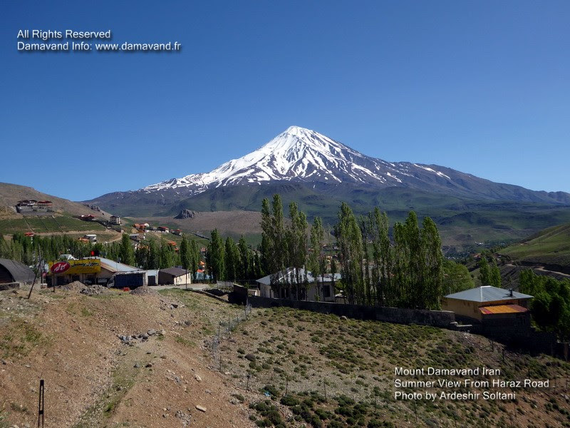 Mount Damavand Iran