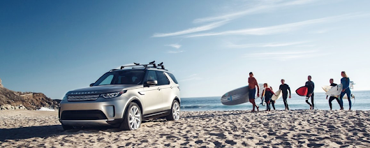 The Land Rover Discovery = The Perfect Beach Vehicle - Baker Motor Company