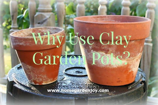 The Benefits of Using Clay Garden Pots
